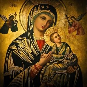 obraz Świętej Marii